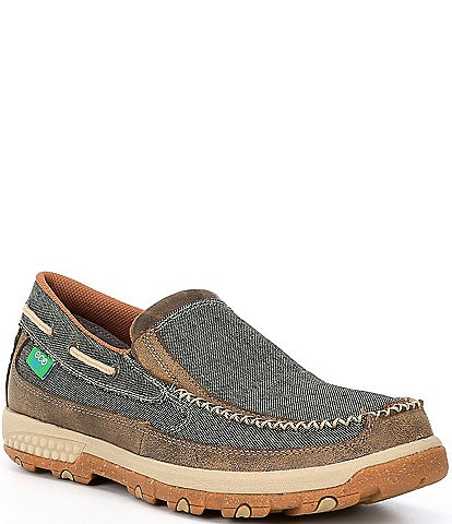 Twisted X Men's Slip-On Driving Moccasins