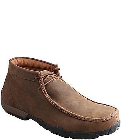 Twisted X Men's Waterproof Chukka Driving Moccasins