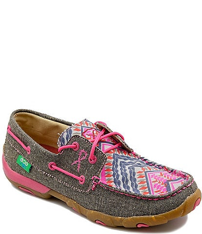 Twisted X Women's ecoTWX® Boat Driving Mocs