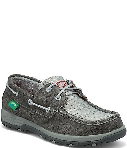 Twisted X Women's ecoTWX® Boat Shoes with CellStretch®