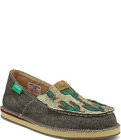 Twisted X Women's ecoTWX® Cactus Print Slip On Loafers