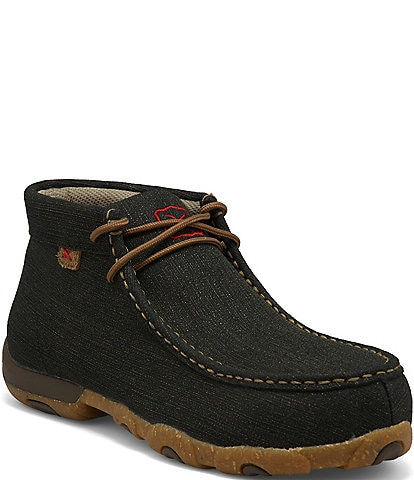 Twisted X Women's Alloy Toe Chukka Driving Moccasins