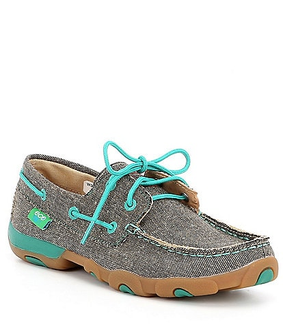 Twisted X Women's ecoTWX® Recycled Boat Driving Mocs