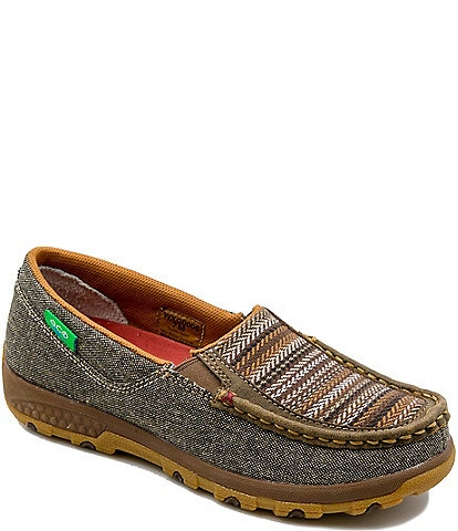 Twisted X Women's ecoTWX® Slip-On Driving Mocs with CellStretch®