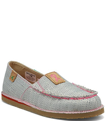 Twisted X Women's ecoTWX® Tough Enough to Wear Pink Slip On Loafers