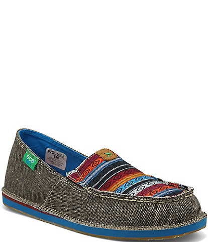 Twisted X Women's ecoTWX® Tribal Print Slip-On Loafers