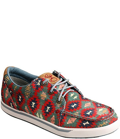 Twisted X Women's Hooey Loper Tribal Printed Sneakers