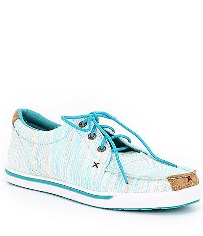 Twisted X Women's Striped Hooey Loper Sneakers