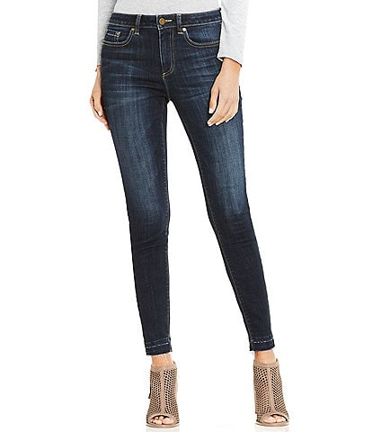 Two by Vince Camuto Frayed Hem Jean