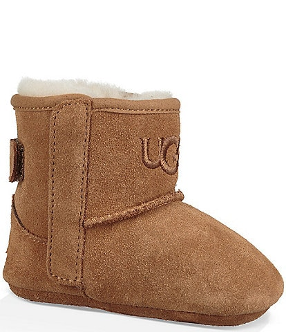 UGG® Kids' Jesse II Suede Crib Shoes Infant