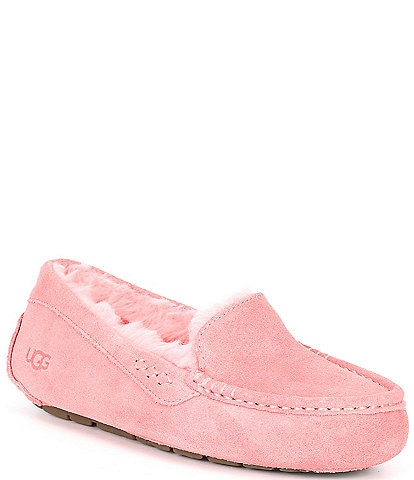 UGG® Ansley Water Resistant Suede Wool Lined Slippers