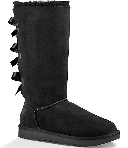UGG® Bailey Bow Tall II Suede Water Resistant Boots