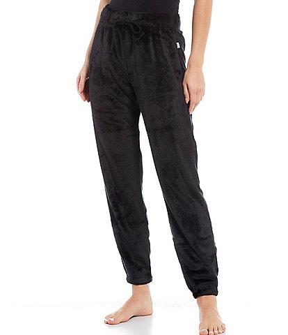 UGG Betsey Solid Print Fleece Jogger Lounge Pants