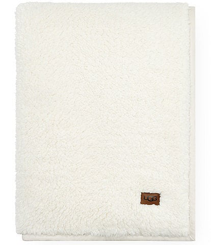 UGG Blake Sherpa Fleece Throw
