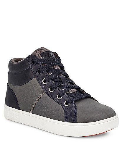 UGG® Boys' Boscoe Leather Sneakers Youth