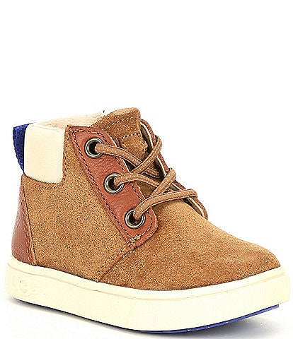 UGG® Boys' Jayes Suede Sneakers (Infant)
