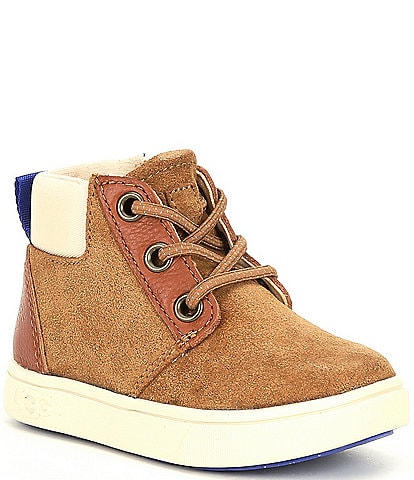 UGG® Boys' Jayes Suede Sneakers (Toddler)