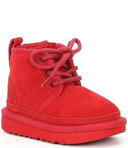 UGG® Kids' Neumel II Suede Water Resistant Booties (Toddler)