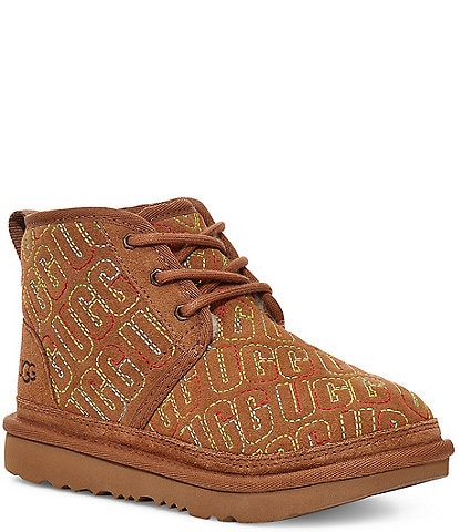 UGG® Kids' Neumel II Graphic Stitch Chukka Boots Youth