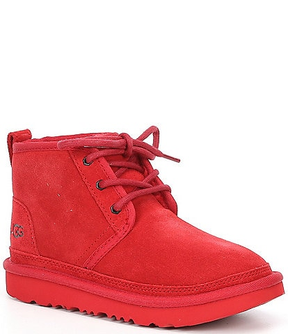 UGG® Kids' Neumel II Suede Booties Youth