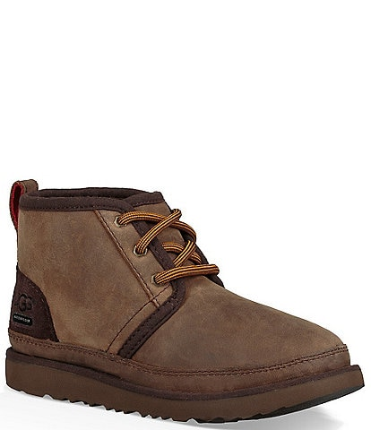 UGG® Boys' Neumel II Waterproof Suede Boots