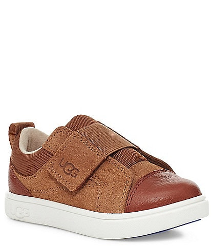 UGG® Kids' Rennon Low Suede Leather Sneakers (Infant)