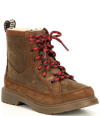 UGG® Boys' Robley Weather Lace-Up Boots Youth