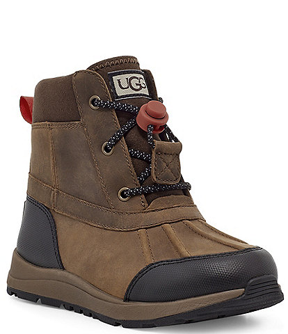 UGG® Boys' Turlock Leather Weather Waterproof Winter Boots (Youth)