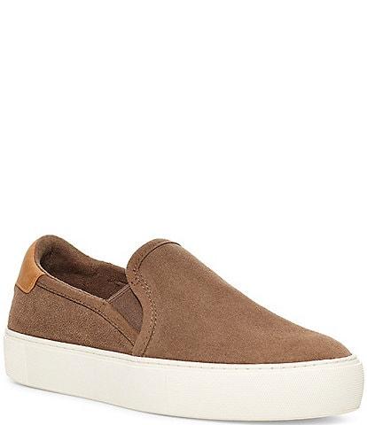 UGG® Cahlvan Slip-On Suede Sneakers