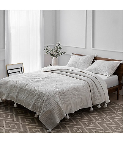 UGG Celia Striped & Tasseled Coverlet Mini Set