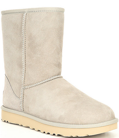 UGG® Classic Short II Suede Water-Repellent Boots