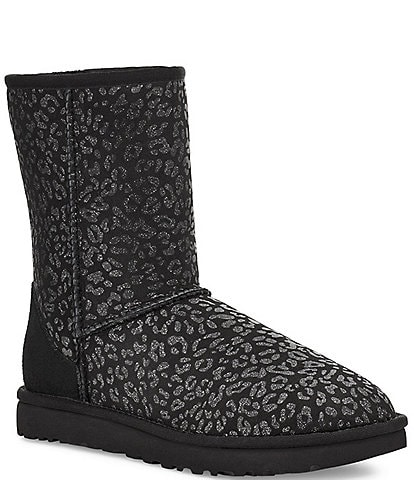UGG® Classic Short Snow Leopard Boots