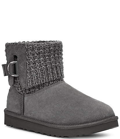 UGG® Classic Solene Mini Knit Booties