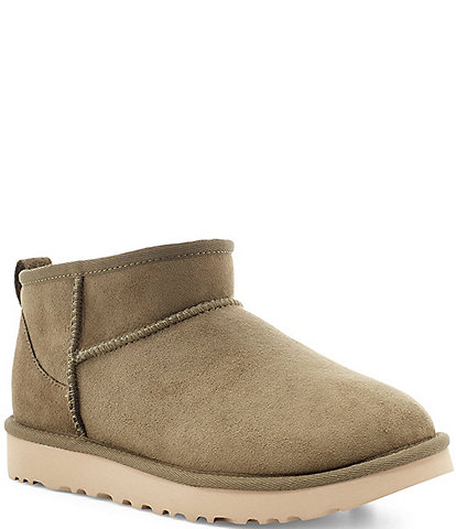 UGG® Classic Ultra Mini Water Resistant Booties