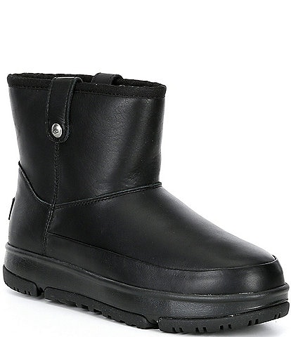 UGG® Classic Weather Mini Waterproof Leather Boots