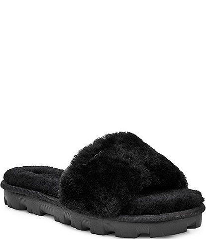 UGG® Cozette Sheepskin Slipper Slides
