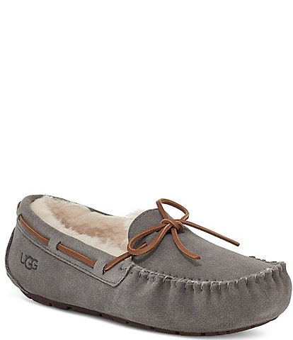 UGG® Dakota Water Resistant Suede Slippers