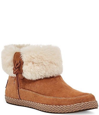 UGG® Elowen Sheepskin Collar Booties