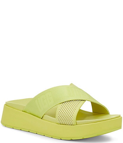UGG® Emily Mesh Cross Slide Sandals