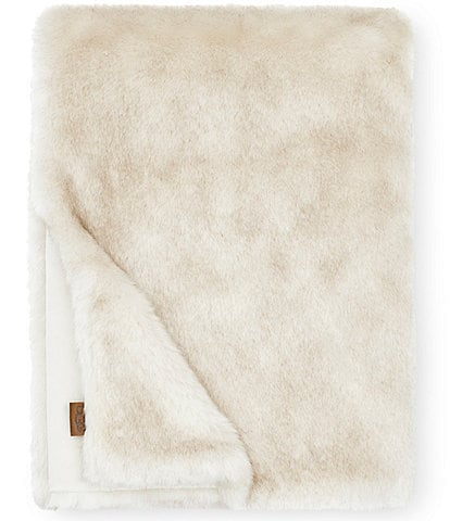 UGG Firn Faux Fur Throw