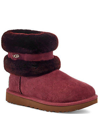 UGG® Fluff Mini Belted Boots