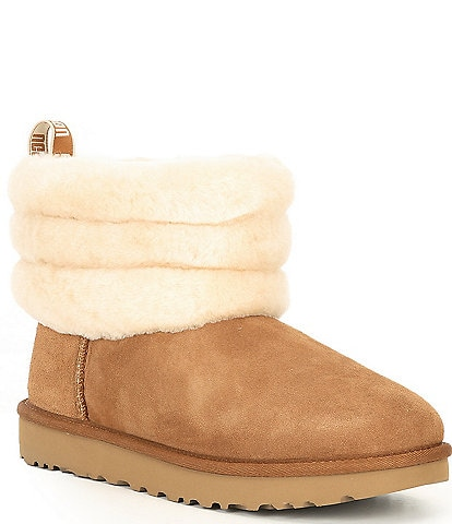 UGG® Fluff Mini Quilted Booties