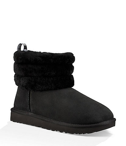 UGG® Fluff Mini Quilted Booties 2968c0d159a