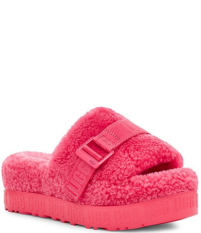 UGG® Fluffita Metal Buckle Slides
