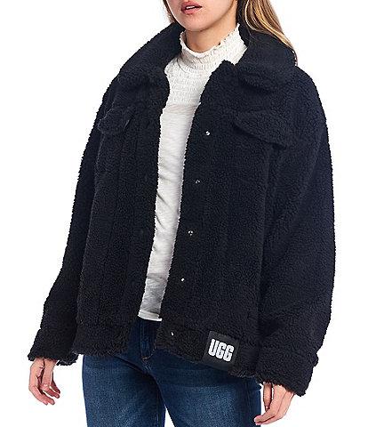 UGG Frankie Oversized Sherpa Trucker Jacket