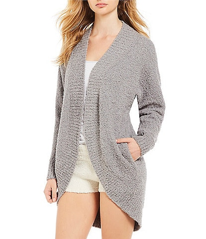 UGG Fremont Fluffy Sweater Knit Lounge Cardigan
