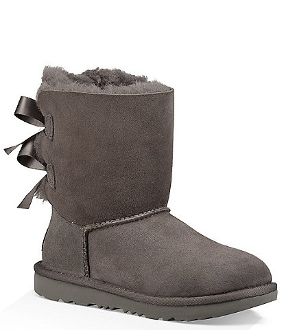 UGG® Girls' Bailey Bow II Water Resistant Boots (Toddler)