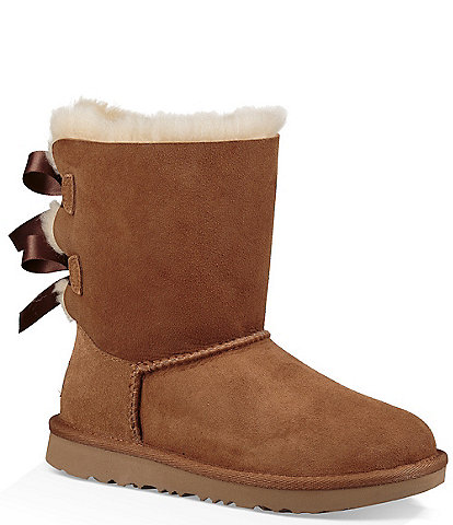 UGG® Girls' Bailey Bow II Water Resistant Boots Toddler