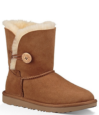 UGG® Girls' Bailey Button II Boots
