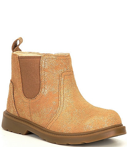 UGG® Girls' Bolden Metallic Chelsea Boots (Toddler)